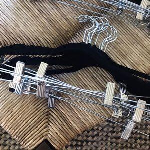 FREE Felt black no slip skirt hangers (pack of 12)